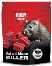 Ruby Block Rat & Mouse Killer